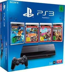 Sony Playstation 3 SuperSlim (12 GB) im Bundle ab 139 € - 22% sparen