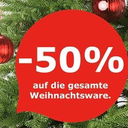 [Ikea Salzburg] 2-Tages Aktion: -50% auf die gesamte Weihnachtsware