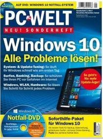 Windows 10: Alle Probleme lösen! PC-WELT Sonderheft als Gratis Download