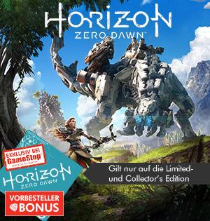 GameStop: Horizon Zero Dawn (LE) / Ghost Recon: Wildlands für je 43,99€- mit etwas aufwand