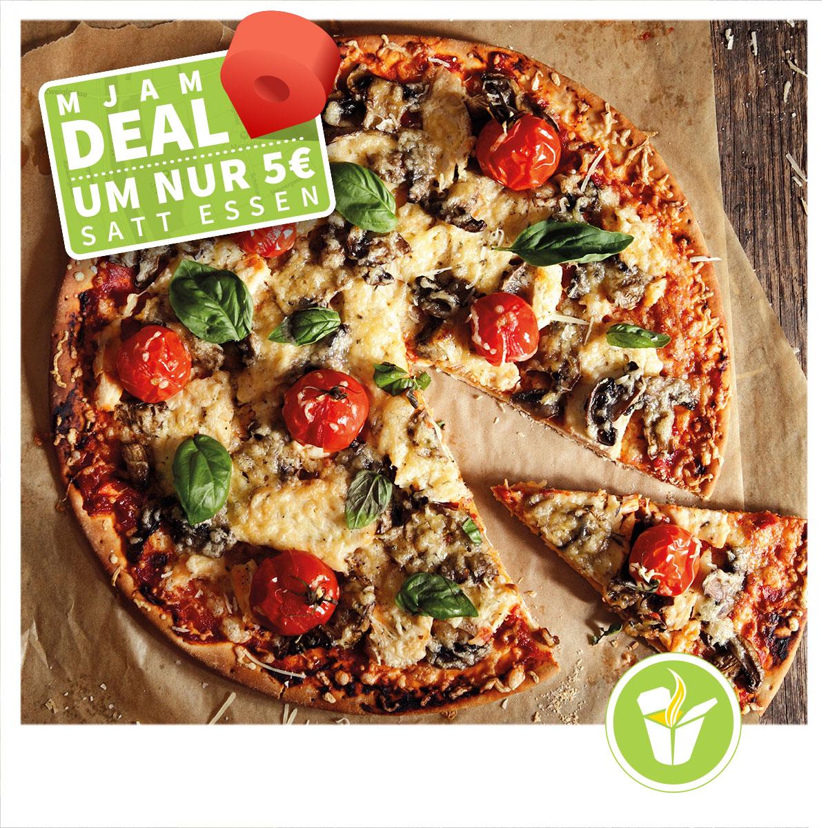 Mjam Deal in STEYR / WIENER NEUSTADT/ KREMS - um nur 5€ satt essen
