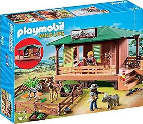 Playmobil Wild Life 6936 Rangerstation mit Tieraufzucht
