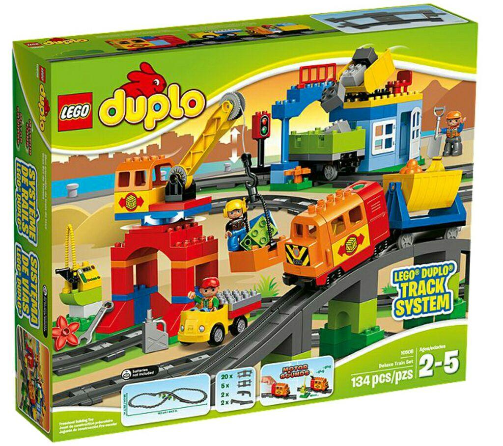 [toysrus.at] LEGO DUPLO - 10508 Eisenbahn Deluxe Set für 74,46€
