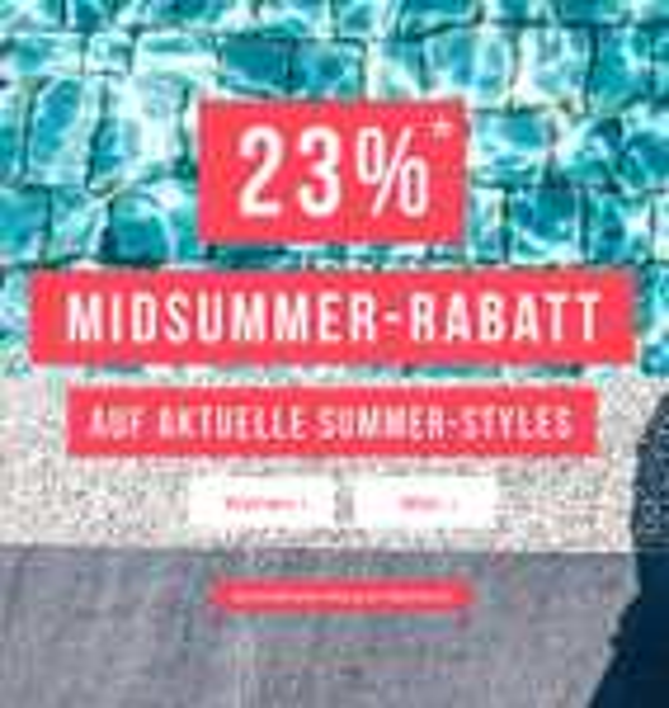 Tom Tailor: 23% Rabatt auf die aktuelle Sommer-Kollektion - nur bis zum 22. Juni