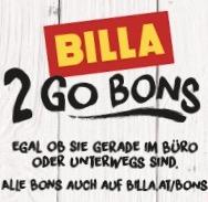 """Neue BILLA """"2 Go"""" Gutscheine - bis 12.7.2017"""