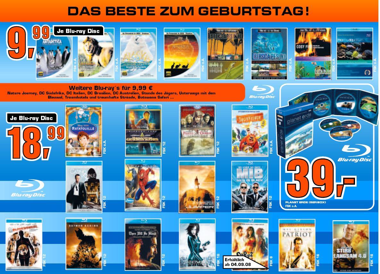 [Blu-ray] Planet Erde für 39€ und versch. Dokus für 10€ im Saturn Dresden
