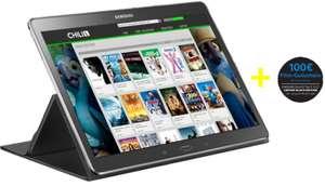 Samsung Galaxy TabS (16 GB, WiFi) + Book Cover + 100 € Chili Film-Gutschein um 399 €