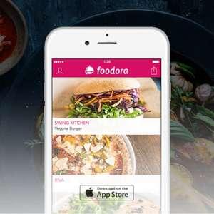 foodora Gutschein - 5€ Rabatt auf die erste Bestellung - Nur bis zum 31. Oktober