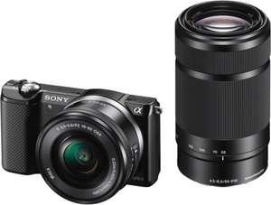 [Redcoon.at] Sony Alpha 5000 Kit (16-50mm 3.5-5.6 OSS PZ und 55-210mm) nur 489€ (gute 60€ sparen)