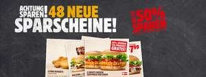 Burger King Österreich - neue Gutscheine - gültig bis zum 28. Februar 2017