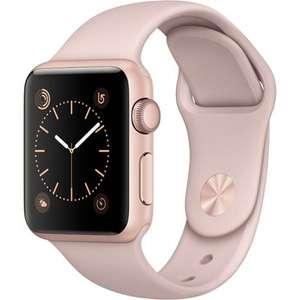 Apple Watch (Series 1, 38mm, rosa) um 233 € - Bestpreis - 27%