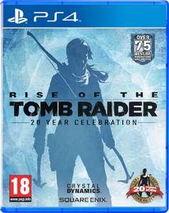 Zavvi.co.uk: Rise of the Tomb Raider - 20 Year Celebration Edition um 21,22€ (PS4)