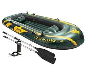 Amazon.de: Intex Seahawk 4 Schlauchboot Set um 60,42€
