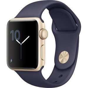 Apple Watch Series 2 (38mm, gold/mitternachtsblau)
