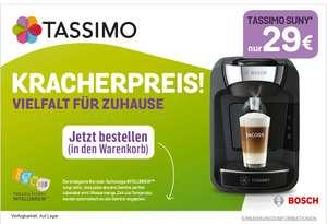 TASSIMO SUNY (T32) Maschine + 2x 10€  Gutschein für Tassimo Online Shop