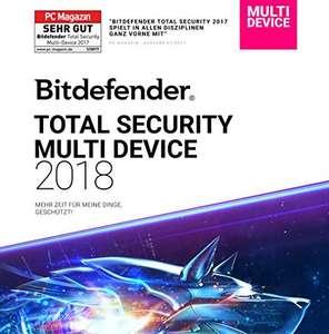 """(6 Monate GRATIS) Bitdefender """"Total Security 2019"""""""