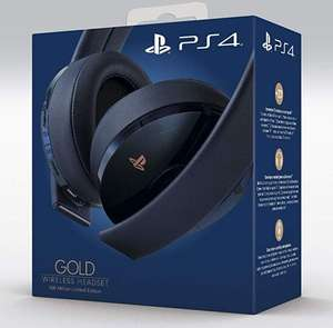 Sony Gold Wireless Headset 500 Million Limited Edition für 89,95€ Vorbestellen
