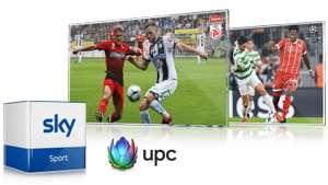 Sky Sport bei UPC, 1 Monat Gratis