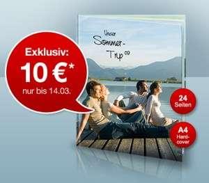 A4 Hardcover-Fotobuch mit 24 Seiten für 15€ bei FujiDirekt