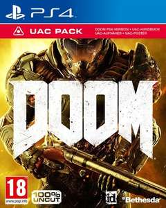 DOOM [UAC Pack uncut Edition] inkl. Demon Multiplayer Pack (PS4)
