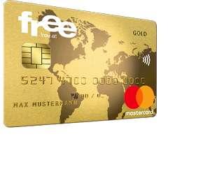 Gratis Mastercard von free.at mit € 25 Startguthaben