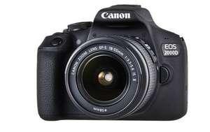 [Canon] Cashback-Aktion z.B. EOS 2000D mit EF-S 18-55 mm Objektiv