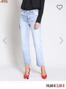 Pimkie: 3x gerade Jeans mit hoher Taille