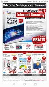 AntiVirus Software Bitdefender Total Security 3 Geräte 1Jahr