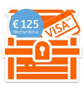 ING Bank - 125 € Startbonus + 1 Jahr gratis VISA Gold - bis 3.6.2019