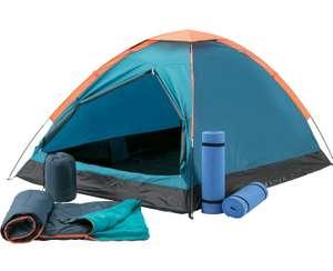 [Intersport] McKINLEY  Zelt-Set: Zelt + 2 Matten + 2 Schlafsäcke inkl. Versandkosten