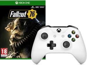 MICROSOFT Xbox Wireless Controller weiß + Fallout 76