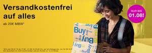 Versandkostenfrei bestellen bei rebuy ab 20 Euro Einkauf