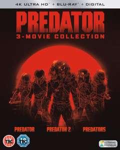 [Zavvi] Predator Trilogy - 4K Ultra HD mit dt. Tonspur