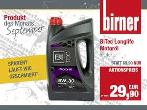 BiTec Longlife Motoröl 5 Liter – Sparen läuft wie geschmiert