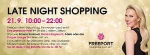 Freeport Late-Night-Shopping mit bis zu 80% Rabatt
