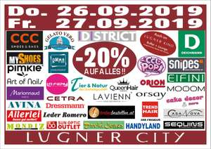Lugner City -20% auf Alles!