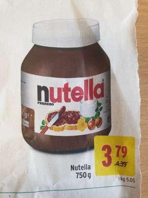 750g Nutella zum Bestpreis bei Merkur (Aktion ink. Rabattsticker)