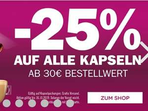 Dolce Gusto Kapseln -25%
