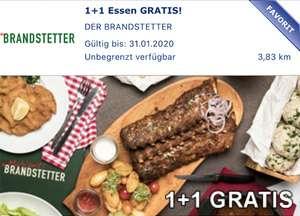 Der Brandstetter - 1+1 Gratis Hauptspeise - bis 31.1.2020