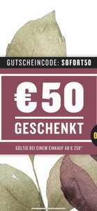 Wein&Co 50 Euro Rabattgutschein ab einer Bestellung von 250 Euro
