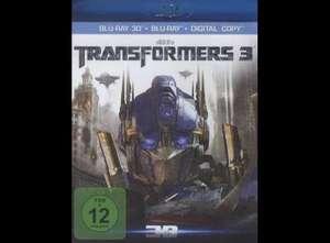 Transformers 3 3D (1 Blu-ray + 1 DVD + 1 Digital Copy)