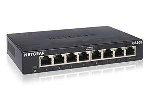 Netgear GS308 8-Port Gigabit Ethernet LAN Switch Unmanaged