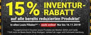 Louis -15 % auf bereits reduzierte Artikel (nur in den Stores!)