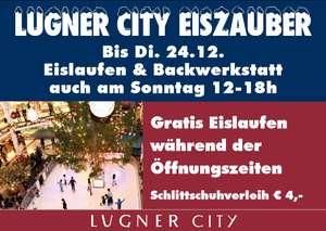 Lugner City - GRATIS Eislaufen (auf Mini-Fläche)