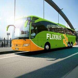 ebay.at FlixBus Voucher einfache Fahrt für Deutschland und Österreich für 1 Pers.