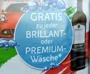 Gratis-Merlot zur Autowäsche