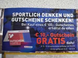 intersport.at 100€ Gutschein kaufen - 10€ Gutschein extra geschenkt bekommen