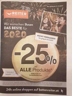 -25% auf ALLE Produkte