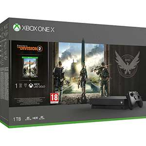 Microsoft Xbox One X 1TB + Tom Clancy's: The Division 2