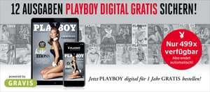 1 Jahr gratis, Playboy Digital Abo (endet automatisch)